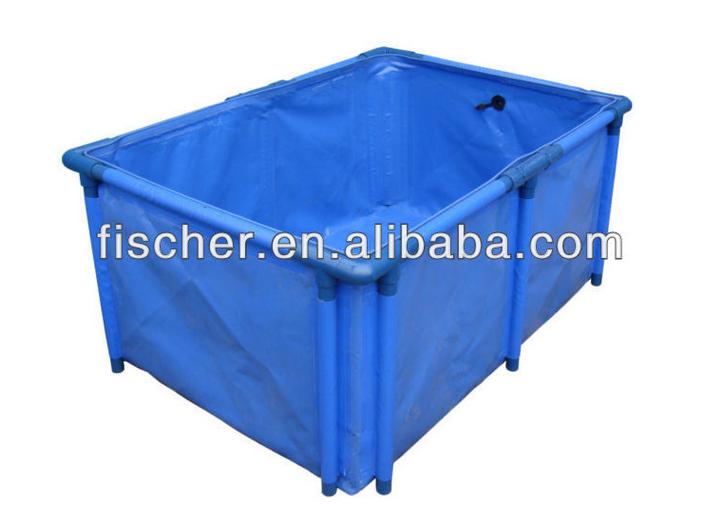 Venda quente do aqu rio dobr vel tanque de piscicultura for Piscicultura en tanques plasticos