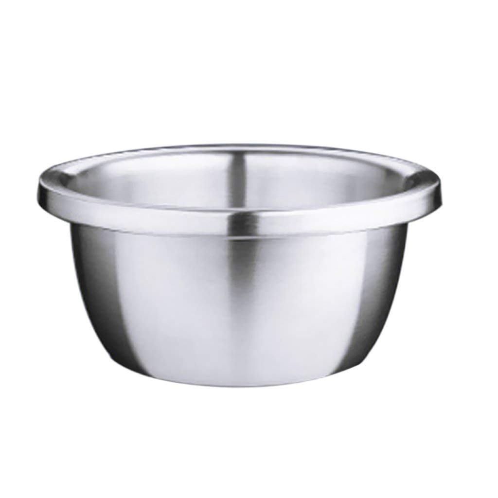 Get Quotations Magideal Kitchen Mixing Bowl Wash Basin Stainless Steel Bowls Food Serving Microwave Safe 18cm