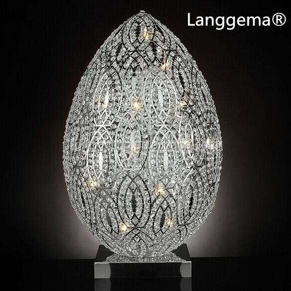 Dise ador italiano r plica huevos de cristal moderna for Replicas de lamparas