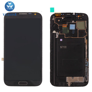 Mobile Phone LCD Display For Samsung Galaxy Note 2 gt-n7100, LCD Touch Screen For Samsung Galaxy Note 2 N7100 Screen