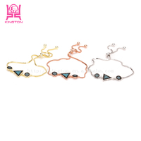 2017 latest China Jewelry Wholesale bead Sterling silver charm Bracelet