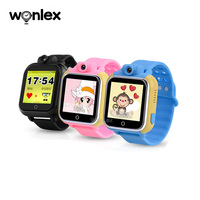 Wonlex WCDMA 3G Kids GPS Watch Tracker Q200 LBS/GPS/AGPS/WIFI Smart Baby Watch