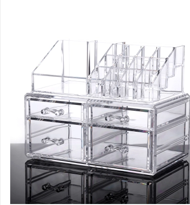 Grote Clear Acryl Make Organizer Met Lade