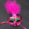 wholesale masquerade mask feather christmas party masks for Female