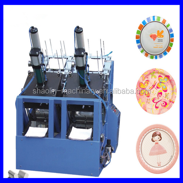 High speed aluminum foil cake dish making machine with best price