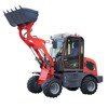 Chinese mini wheel loader ZL08F with CE for sale