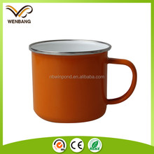 270ml new ceramic coating custom enamel coffee mug customized reusable cup