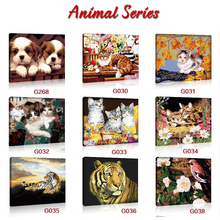 Paintboy brand yiwu manufactor house decoration diy canvas paintings by numbers kits