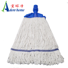 100% cotton mop refill with plastic clip