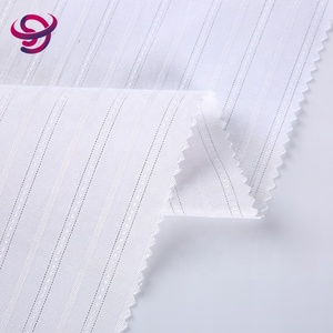 new design cotton spandex twill stretchable woven polyester antistatic fabric