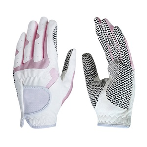 High quality sublimated ladies color superior golf gloves
