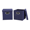 House fabric non woven storage foldable drawer