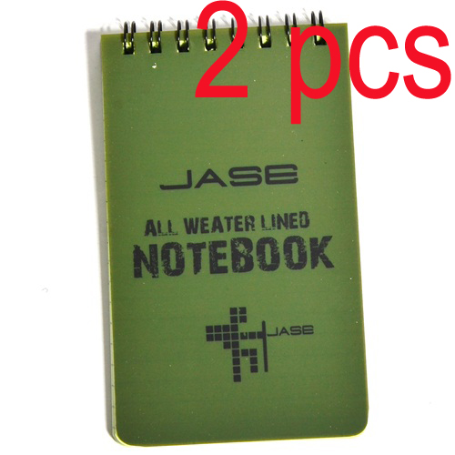 All Weather Notebook Waterproof Writing Paper in Rain Note Book-3*5 inch