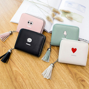 Women Leather Credit Card Wallets to Organize Your Cash Passport Card and Phone Wristlet Strap Zipper Clutch Purse