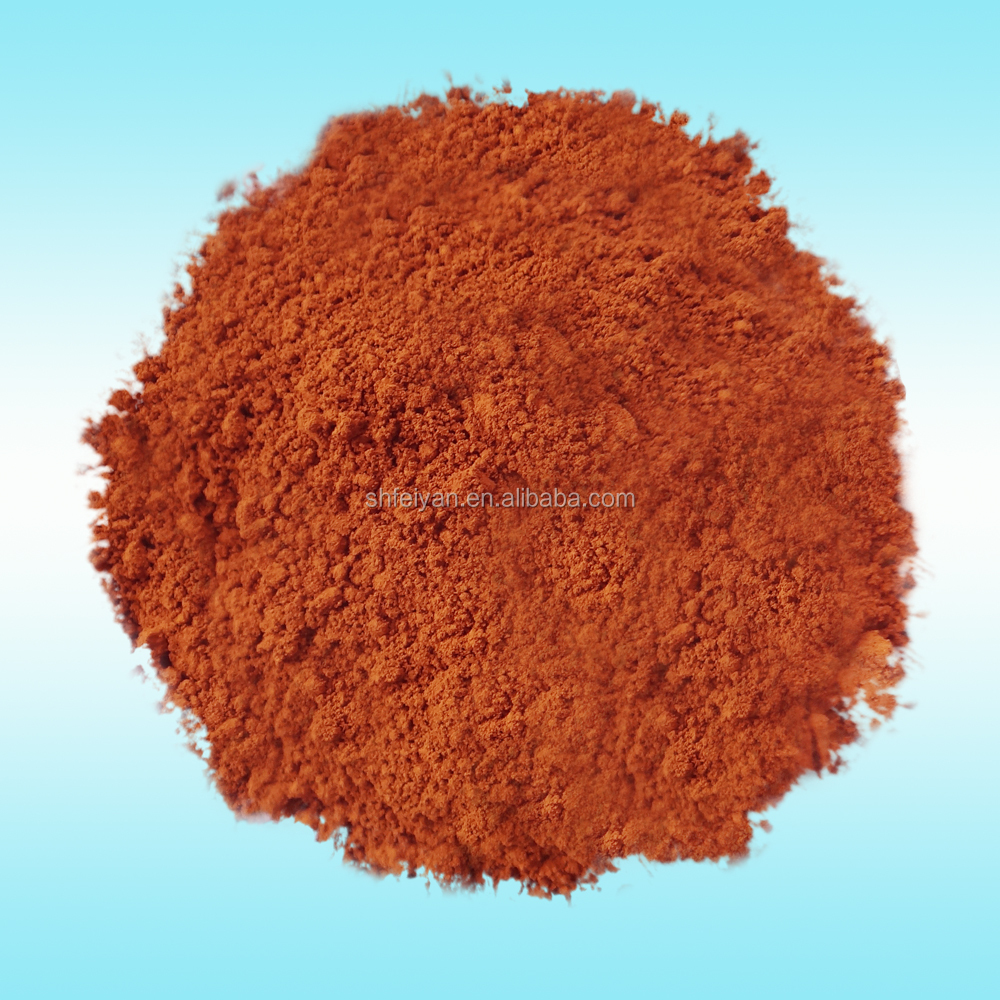 Coloured Powder Ferric Oxide Orange Inorganic Pigment