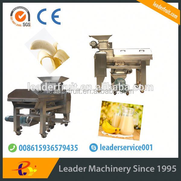 Leader widely used banana decorticating and beating machine
