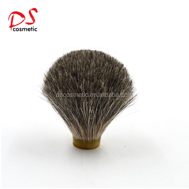 DISHI New arrival shaving brush knots Pure badger hair shaving brush Men's shaving brush knots