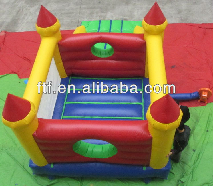 Funny inflatable toddlers jump bed