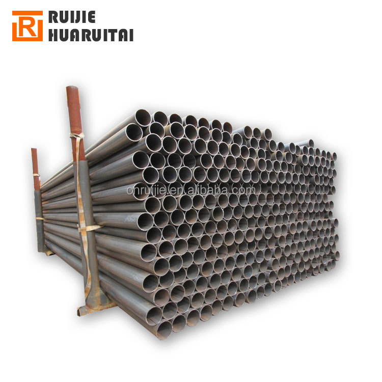 ASTM A53 black erw steel pipe schedule 40, black welding carbon steel pipe for oil and gas