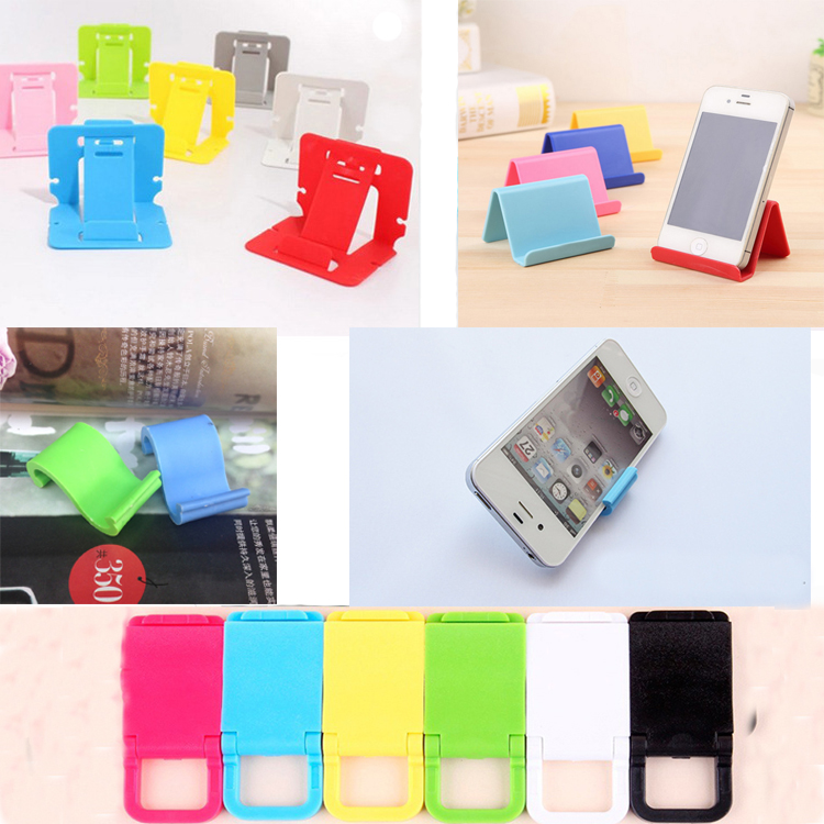 multicolor promotion gift lazy stent phone holder Portable custom logo card type support Mobile phone stand