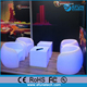remote control battery powered rechargeable rgb color changing led restaurant set bar lounge furniture