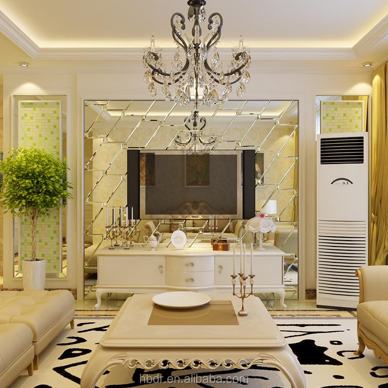 spiegelwand dekor m belideen. Black Bedroom Furniture Sets. Home Design Ideas