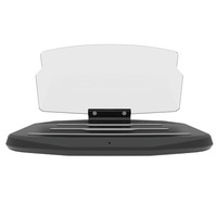 Qi Car Wireless Charger with GPS Navigation display HUD Head Up for iphone 7/8/X for Samsung galaxy S9/S9plus