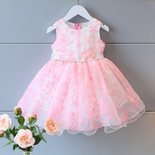 Fashion Children s Kids Baby Lace Organza Girls Sweet Sleeveless Vest Tank Dresses Princess Party Tutu