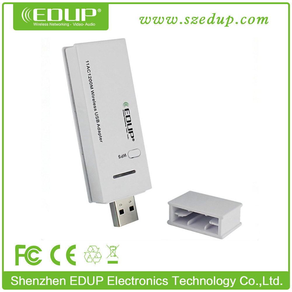 Dual Band 5G External Antenna Android USB Wifi Dongle 600Mbps 802.11ac