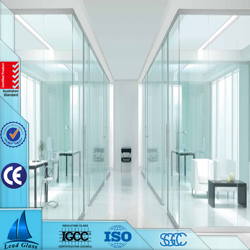 Manufacturer Supplier tempered ultra white clear low iron glass