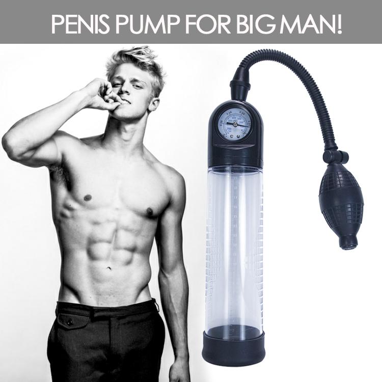 Men S Top Gauge Professional Pressure Penis Enlarger Pump 25