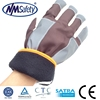 NMSAFETY brown polar liner ski glove/heavy duty winter work gloves/safe work gloves