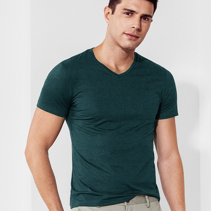 High quality supima cotton t shirt wholesale