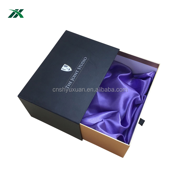 New style full color printing sliding drawer box