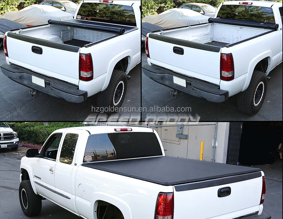 Auto spare parts tonneau covers for Ford Sport Truck 2005