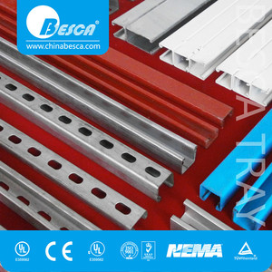 Q235 material C channel C section C profile steel for construction