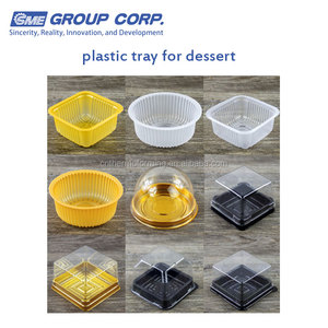 plastic packing tray for dessert mooncake chocolate cookies biscuit cake box caton container blister package