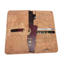 Boshiho Cork Passport Cover Case Passport Wallet and Ticket Organizer Slim Travel Wallet Unique Vegan Gift Ideas Eco Friendly