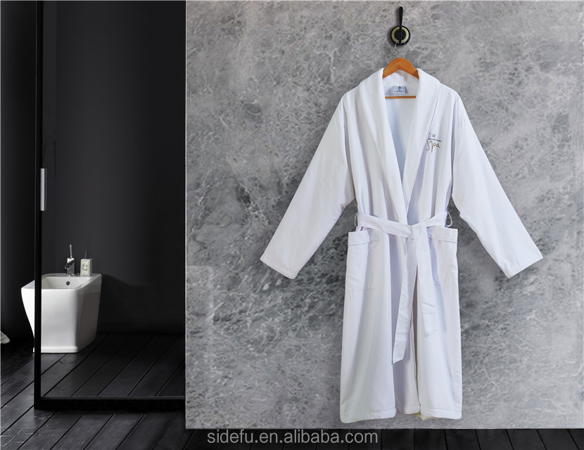 e4c07d47d1 Hotel Linen Terry Cloth Lined Shawl Collar Luxury 5 Star Hotel Microfiber  Bathrobes ...