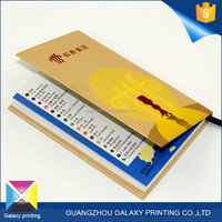 High quality and fast delivery printing supplier cheap hardcover book printing services note/brochure