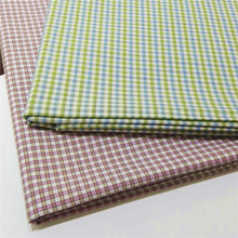 new material,environment friendly,breathable yarn dyed pattern woven bamboo shirt fabric with nice handfeeling
