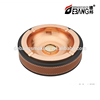 DB-016TA metal round shape cigar ahstray for table with custom logo