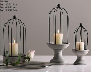 new design metal cover candle holder tealight candle stand with