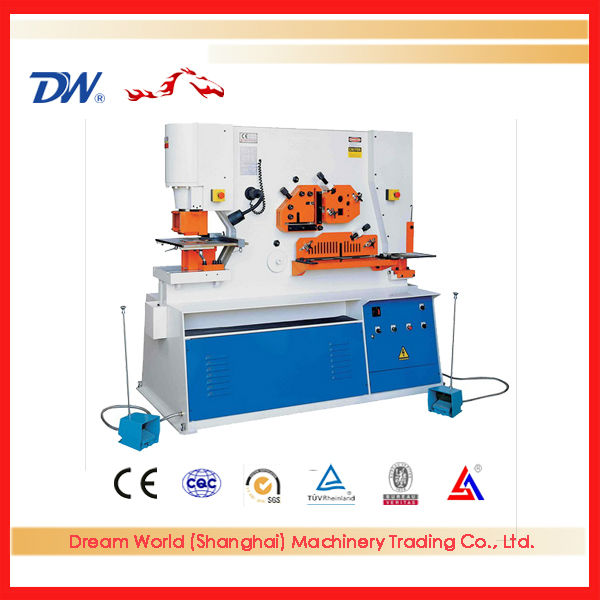 """SLMT"" Punch And Shear Machine , small ironworker , ironworks for folding tables with high quality"