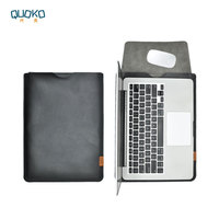 selling ultra-thin super slim sleeve pouch cover,Genuine leather laptop sleeve case for MacBook Pro Air 13 15 2018 Mac 12