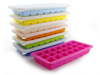 Food Grade silicone 21 cavties wholesale ice cube tray with cover