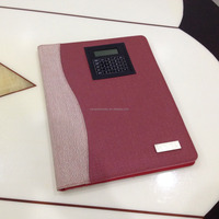 a4 size pu leather document organiser NS-JLJ0015
