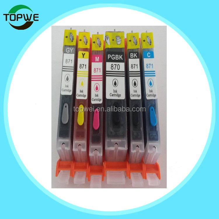Pgi-670 Cli-671 Edible Ink Cartridge With Permanent Chip For Canon ...