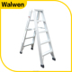 Home Folding Aluminum Ladders Type and Step Ladders Structure double side ladders