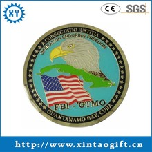 Double face printing sale old coins die casting eagle